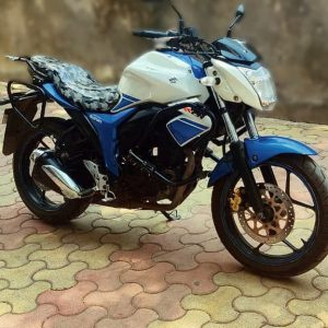 Suzuki Gixxer/SF 155 Rear rack with saddle stay and Backrest