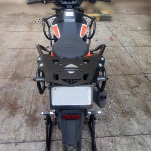 KTM 390/250 ADV Rear Rack with Saddle Support and BackRest
